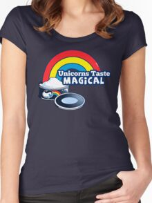 Magically Delicious | Funny Unicorn Shirt Women's Fitted Scoop T-Shirt
