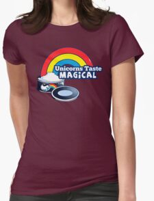 Magically Delicious | Funny Unicorn Shirt Womens Fitted T-Shirt