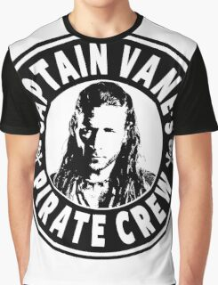 Captain Vanes Pirate Crew Graphic T-Shirt