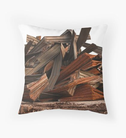 Ribbons Unwrapped 3749 Throw Pillow