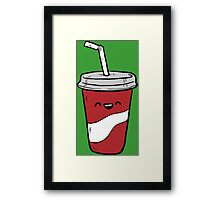 Drinking Cup Framed Print