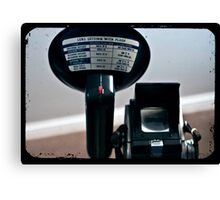 Lens Setting With Flash Canvas Print
