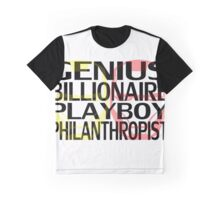 Genius, Billionaire, Playboy, Philanthropist Graphic T-Shirt