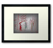 There for You! Framed Print
