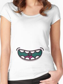 Smile! Women's Fitted Scoop T-Shirt