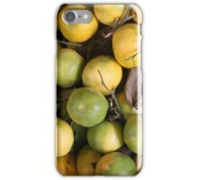 Green Oranges iPhone Case/Skin