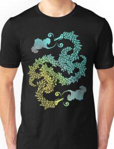 Dragons Blow | Chinese Dragon Yin Yang Unisex T-Shirt