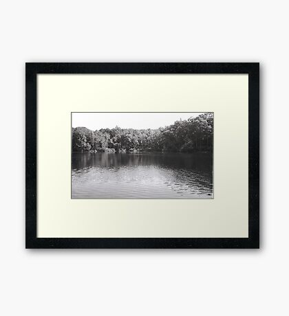 Lake Owego  Framed Print