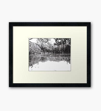 Lake Owego Lake Framed Print