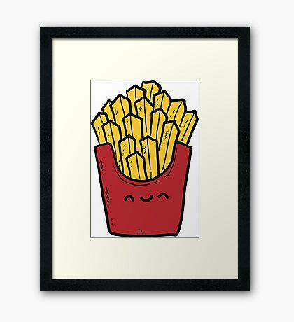 Nice Fries! Framed Print