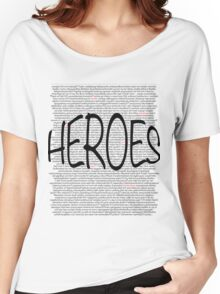 Heroes Women's Relaxed Fit T-Shirt