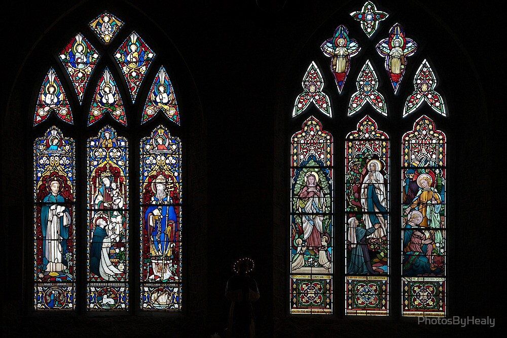 Stained glass windows by PhotosByHealy