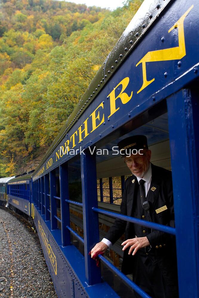 Scenic Train Ride through Lehigh River Gorge by Mark Van Scyoc