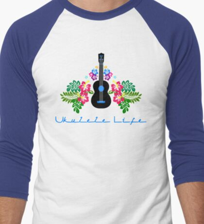 Ukulele Life Men's Baseball ¾ T-Shirt