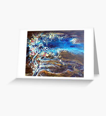 Flooded Plains - Lake Eyre Greeting Card