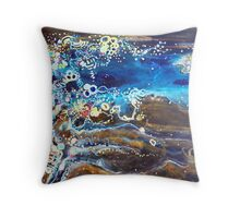 Flooded Plains - Lake Eyre Throw Pillow