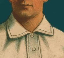 Benjamin K Edwards Collection Jimmy Dygert Philadelphia Athletics baseball card portrait 001 Sticker
