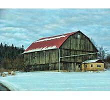 On a cold winter's day Photographic Print
