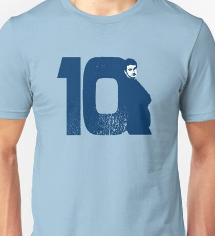 Doctor Who 10 Blue Unisex T-Shirt