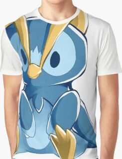 Sinnoh Project - Prinplup Graphic T-Shirt