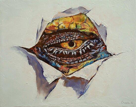 Dragon Eye by Michael Creese