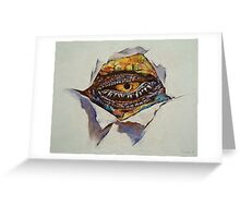 Dragon Eye Greeting Card