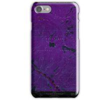 USGS Topo Map Washington State WA Brief 240229 1968 24000 Inverted iPhone Case/Skin