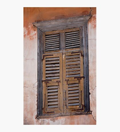 Shutters On Shutters Photographic Print