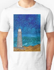 Seascape with Lighthouse T-Shirt
