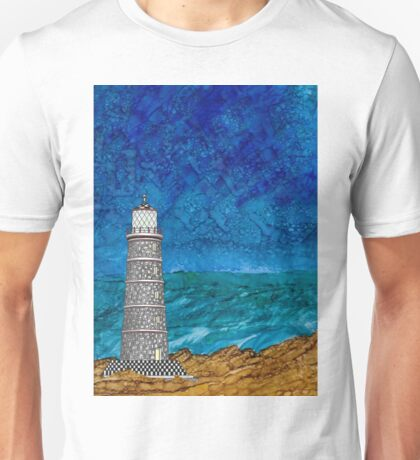 Seascape with Lighthouse Unisex T-Shirt