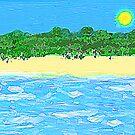 Deserted Beach by Margaret Stevens