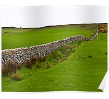 Stone Fence Poster