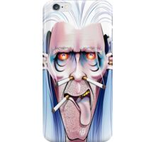 Smoked Cover iPhone Case/Skin