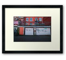Graffiti Alley - Gastown Framed Print
