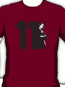 Doctor Who 11 Maroon  T-Shirt