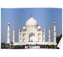 The Taj Mahal - 7 Wonders of the World Poster