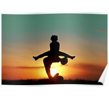2012 Leap Year Sunset Poster