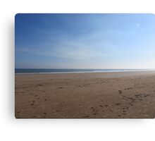 Desolate Sandy Beach  Canvas Print