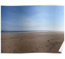 Desolate Sandy Beach  Poster