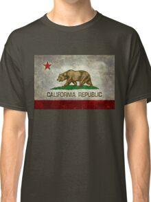 California Republic state flag - Vintage retro version Classic T-Shirt