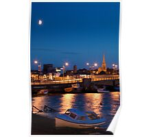 Wexford Harbour at dusk Poster