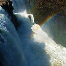 Rainbow Over the Great Falls, Paterson NJ by Jane Neill-Hancock