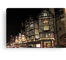 Old Architecture at London Canvas Print