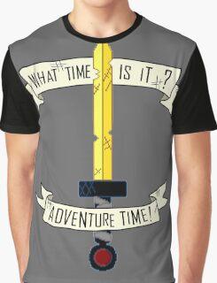 Adventure Time sword design Graphic T-Shirt