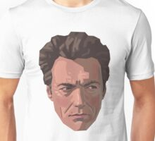 Shifty-Eyed Clint Unisex T-Shirt
