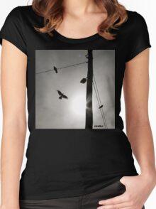 Flight by evoke Women's Fitted Scoop T-Shirt