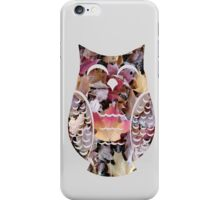 Happy Autumn Leaf Owl iPhone Case/Skin