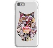 Happy Autumn Leaf Owl iPhone Case/Skin