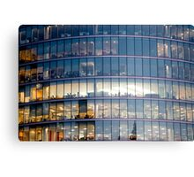 Architectural | The Office Canvas Print