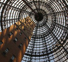 Melbourne Central Shot Tower by Charles Kosina